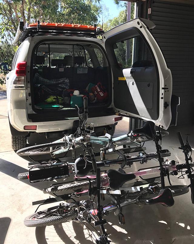 iSi Advanced 4x4 Bicycle Carrier | Review | Feedback | Bike racks