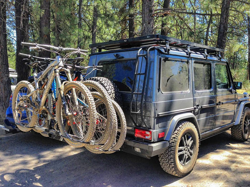 Land Rover Defender 110 >> iSi Advanced Bicycle Carrier Systems | Mercedes G550 | Land Rover Defender 110 | Land Rover ...