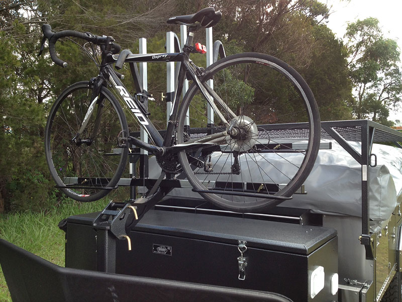 Trackabout Off Road Camper Trailer Bicycle Carrier